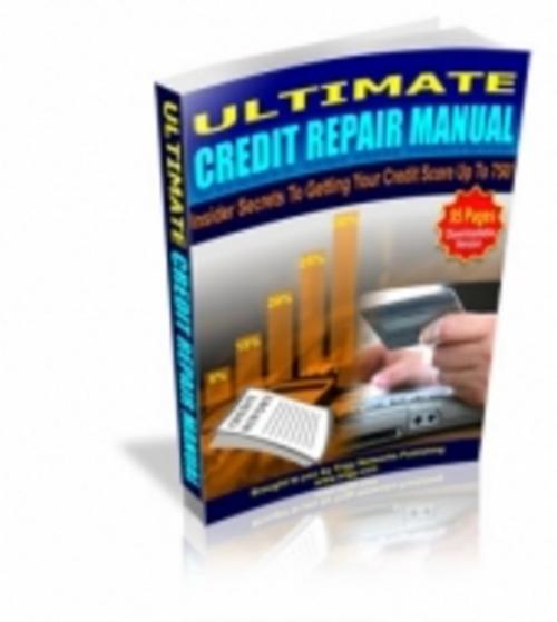 Product picture Ultimate Credit Repair Manual eBook