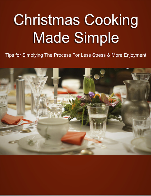 Product picture Christmas Cooking Made Simple