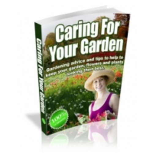 Product picture Caring For your Garden eBook