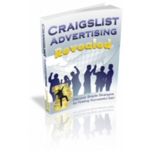 Product picture Craigslist Advertising Revealed eBook