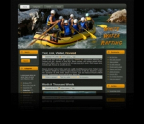 Product picture Professional Whitewater Rafting HTML & WordPress Theme