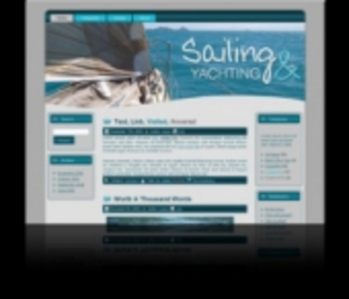 Product picture Professional Sailing HTML & WordPress Theme
